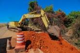 PMA inicia obra de recuperação na estrada da Antinha