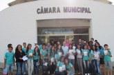 Câmara Municipal recebe alunos da Escola Estadual Rotary