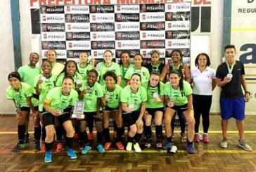 Equipe de Futsal Feminino de Araxá está classificada para etapa estadual do JIMI