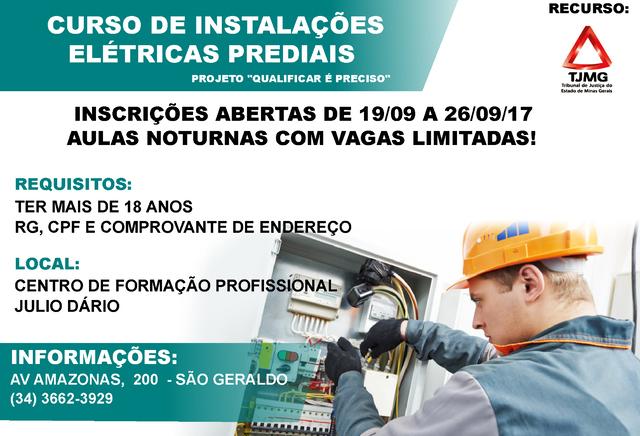 Julio Dário abre inscrições para cursos profissionalizantes 3
