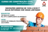 Julio Dário abre inscrições para cursos profissionalizantes