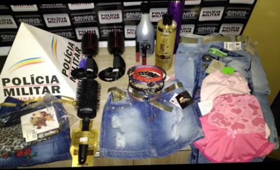 Mulheres presas por furto em lojas no centro 3