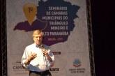 Seminário de Câmaras Municipais discute demandas regionais em Araxá