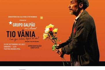 """Grupo Galpão apresenta """"Tio Vânia"""" no próximo sábado"""