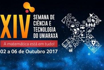 Uniaraxá promove XIV Semana de Ciência e Tecnologia de 02 a 06 de outubro
