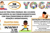Instituto Consciência & Ação promove palestra para destacar os beneficios da Yoga para crianças com TDAH