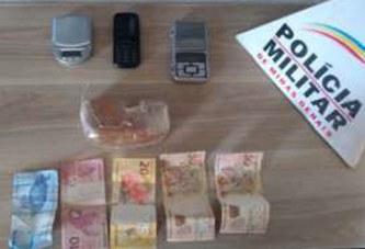 PM prende homem suspeito de tráfico de drogas no Alvorada