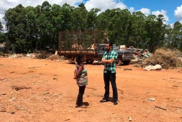 Famílias da coleta seletiva são retiradas do galpão de reciclagem e acolhidas por aluguel social
