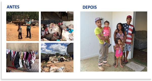 Famílias da coleta seletiva são retiradas do galpão de reciclagem e acolhidas por aluguel social 3