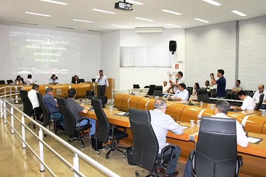 Audiência pública esclarece ações e investimentos no PPA e na LOA