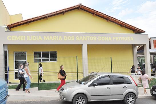 Cemei Dona Petrosa é inaugurado no bairro São Pedro