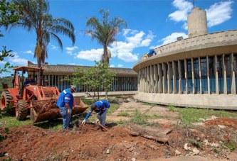 Prefeitura inicia obras de revitalização do prédio da EscolaDom José Gaspar