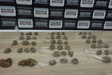 PM prende suspeito de tráfico de drogas no São Geraldo