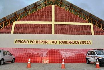 Inaugurado novo ginásio poliesportivo no bairro Jardim Natália