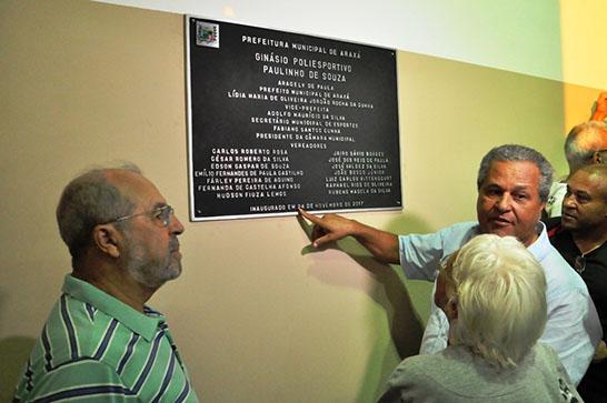 Inaugurado novo ginásio poliesportivo no bairro Jardim Natália 3