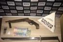 PM prende autor por posse ilegal de arma de fogo
