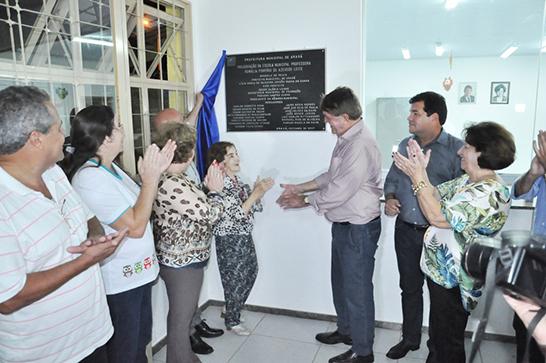 Inaugurada escola Romália Porfírio no bairro Max Neuman 3