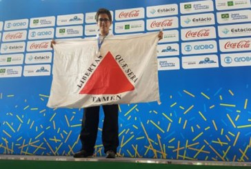 Araxaense conquista medalha de bronze nos Jogos Escolares da Juventude