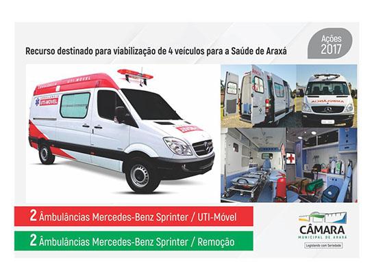 Câmara economiza R$ 1,3 milhão e direciona valores para a saúde de Araxá 5