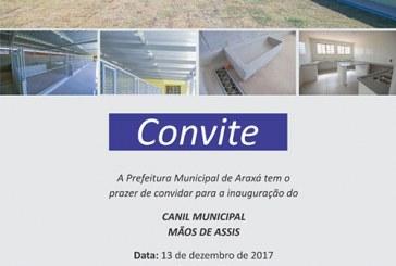 Convite: Inauguração do Canil Municipal