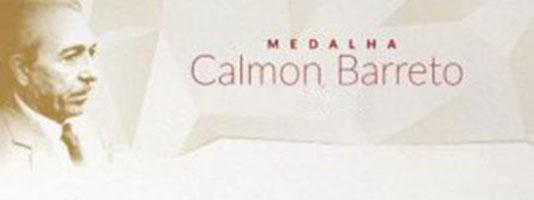 Convite: Cerimônia de entrega da Medalha Calmon Barreto