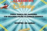 Exibição de clássicos da Disney durante as férias escolares