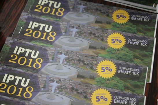 Carnês do IPTU começam a ser entregues em Araxá