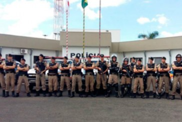 PM realiza operação pré-carnaval em Araxá