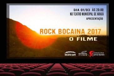 Lançamento Filme Rock Bocaina 2017 no Teatro Municipal