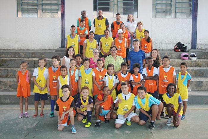 Escolinha dos Esportes Especializados promove interação entre pais e alunos