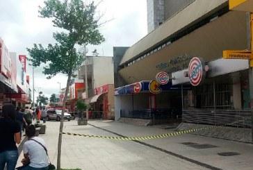 Centro Comercial é esvaziado após registro de tremor