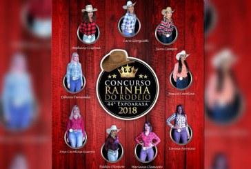 Nove candidatas disputam o título de Rainha da Expoaraxá 2018