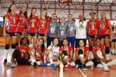 Time mineiro é bicampeão do Campeonato Brasileiro Sub-16 de vôlei em Curitiba