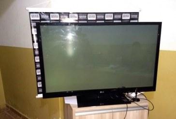 Polícia Militar recupera TV furtada de unidade de saúde