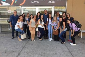 Alunos do Uniaraxá visitam aExpo Revestir