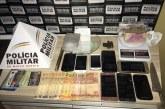 PM prende quadrilha e recupera materiais roubados em assalto na Vila Silvéria