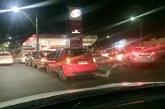 Paralisação de caminhoneiros nas rodovias causa filas nos postos de combustíveis em Araxá