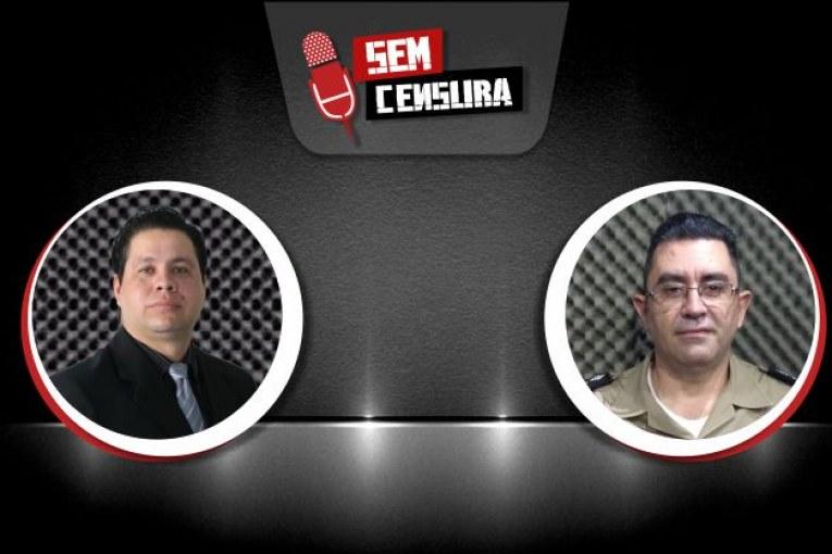 Major Fagundes fala de reação de policial à paisana em assalto