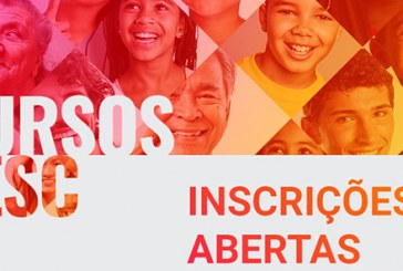 'Cursos Sesc' anunciam novas oportunidades