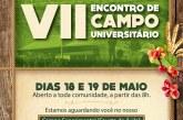 Convite: VII Encontro de Campo Universitário