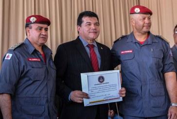 Deputado Bosco comemora elevação do Bombeiros de Pelotão à Companhia