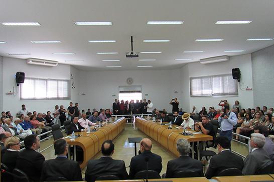 Representantes da OAB se reúnem com Vereadores na Câmara