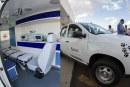 Secretaria de Saúde de Araxá recebe 2 ambulâncias e uma caminhonete