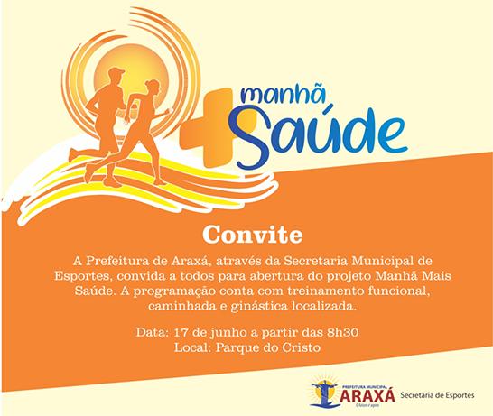 Parque do Cristo terá atividades físicas aos domingos 3