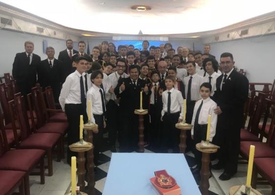Congresso da Ordem DeMolay Mineira em Araxá 5