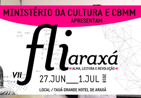 Fliaraxá abre sétima edição nesta quarta
