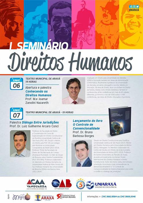 Convite I Seminário Direitos Humanos 1