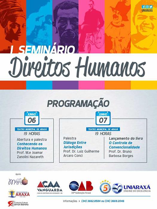 Convite I Seminário Direitos Humanos