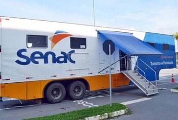 SenacMóvel Turismo e Hospitalidade estaciona na VII Fliaraxá