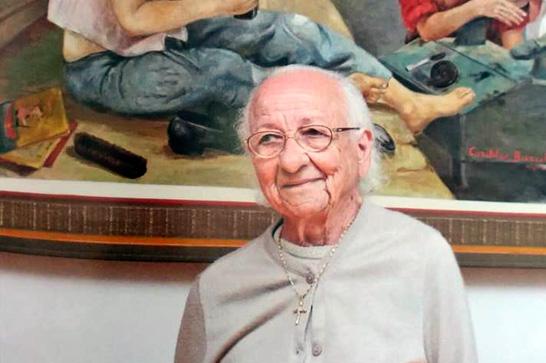 Artista plástica Cordélia Barreto morre aos 94 anos